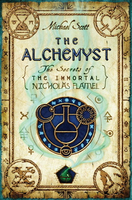 syntax analysis for the alchemist by michael scott waiting for  picture